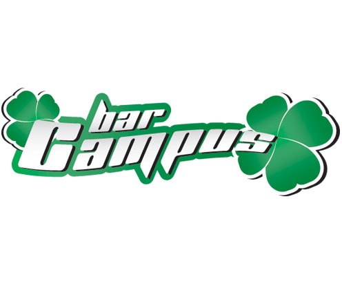 bar campus, logotipo by vimercati grafica