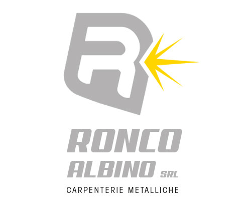 ronco albino, logotipo by vimercati grafica