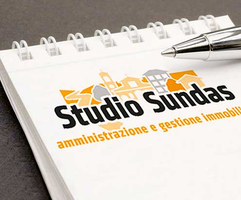 studio sundas, logotipo by vimercati grafica